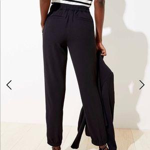 Slim tapered pull on pants